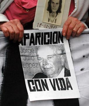 A dos años de la primera desaparición en democracia