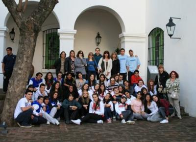 Viaje a Buenos Aires - En el Cabildo